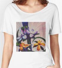 Flower Light Women's Relaxed Fit T-Shirt