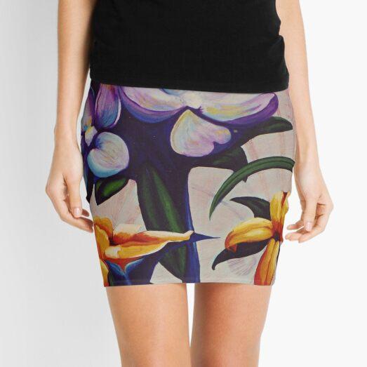 Flower Light Mini Skirt