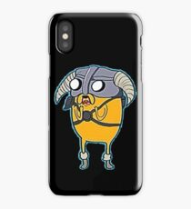 Skyrim Adventure Time iPhone Case/Skin