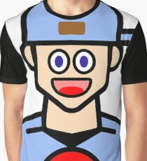 When you get ur first pokemon! Graphic T-Shirt