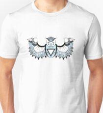 Vector Aztec Owl Design Unisex T-Shirt