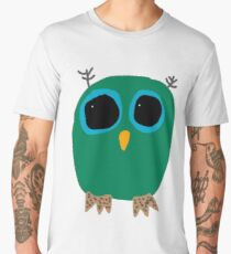 Green Owl Men's Premium T-Shirt