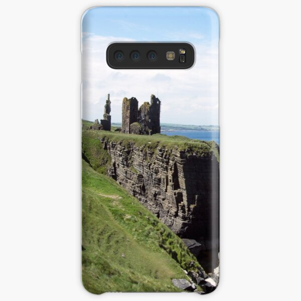 Seastacks and Ruined Castle Samsung Galaxy Snap Case