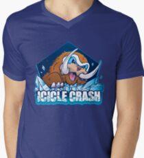 Icicle Crash Men's V-Neck T-Shirt