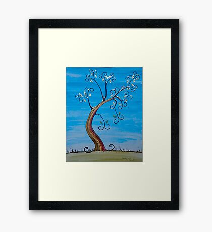 Birds in the Tree Framed Print