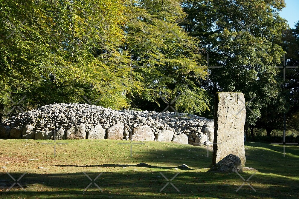 Cairns and Standing Stones by SiobhanFraser