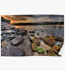 On The Rocks - Balmoral Beach - The HDR Series Poster