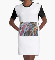 Mirror Spirit in the Wind Graphic T-Shirt Dress