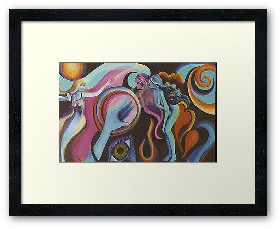 Mirror Spirit in the Wind by Jill Mattson