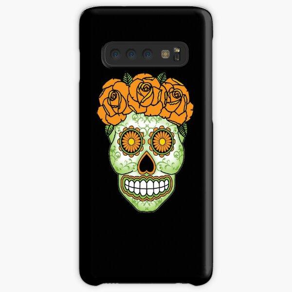 Yellow Rose Sugar Skull Samsung Galaxy Snap Case
