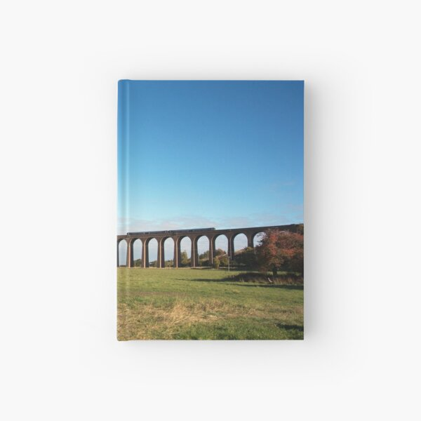 Culloden Viaduct with train Hardcover Journal
