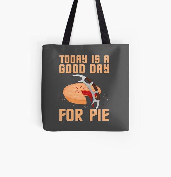 Klingon Pie All Over Print Tote Bag