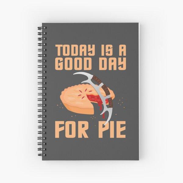 Klingon Pie Spiral Notebook
