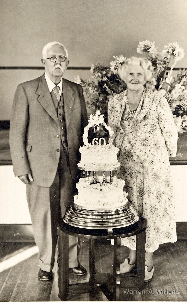 Diamond Wedding Charles & Mary Puttergill by Warren. A. Williams
