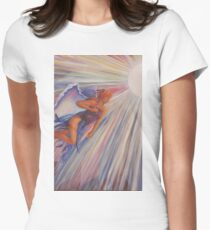Into the Light Women's Fitted T-Shirt