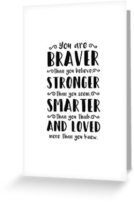 Du bist mutiger als du Winnie The Pooh glaubst von MentDesigns