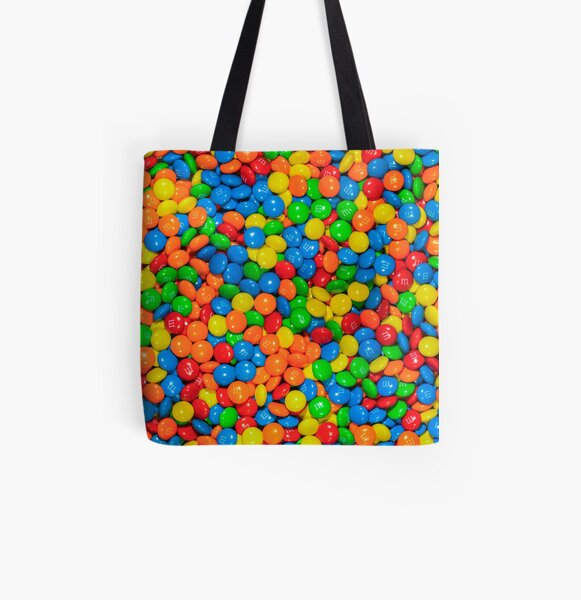 m&m All Over Print Tote Bag