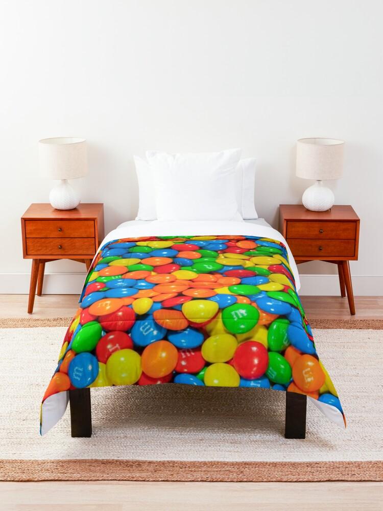 Alternate view of m&m Comforter