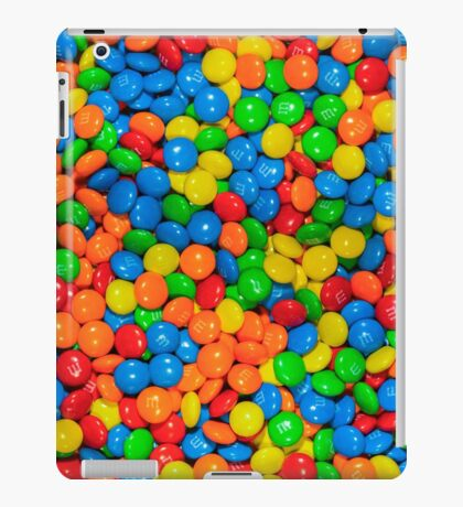 m&m iPad Case/Skin