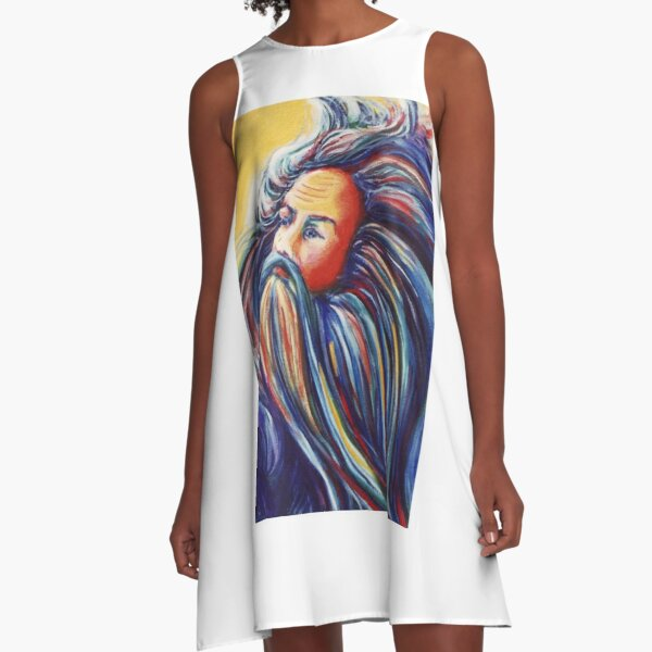 Father Time A-Line Dress