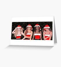 Little Mix Christmas Greeting Card