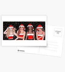 Little Mix Christmas Postcards