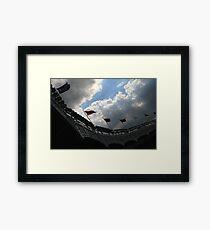 Yankee Stadium Facade Framed Print