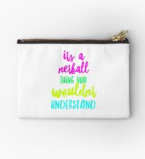Its a netball thing Studio Pouch