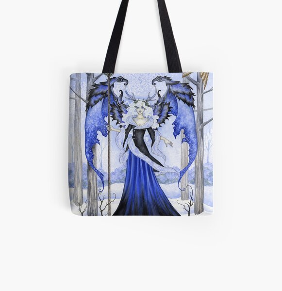 The Winter Guardian All Over Print Tote Bag