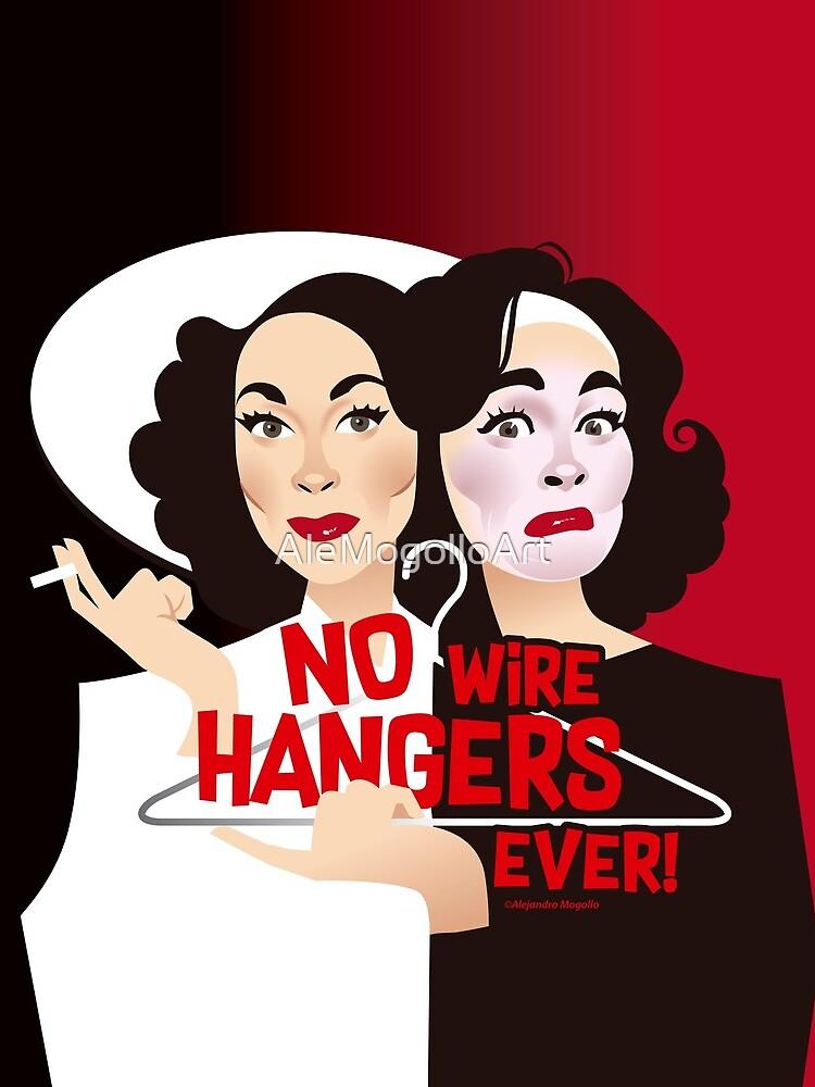 No wire hangers ever! by AleMogolloArt