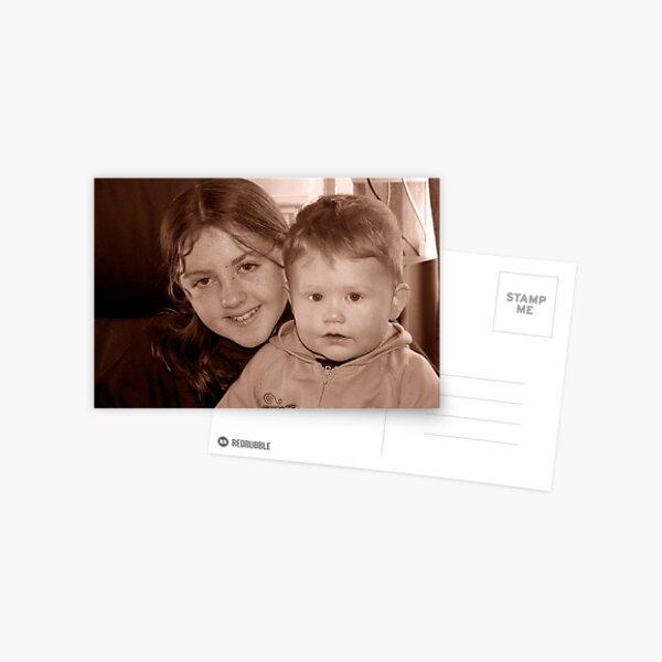 Nephew and Niece Postcard