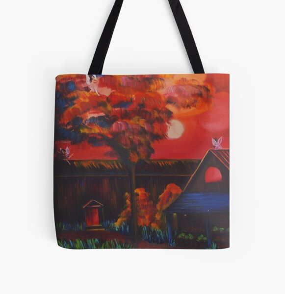 Afternoon Theater All Over Print Tote Bag