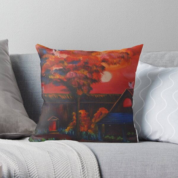 Afternoon Theater Throw Pillow
