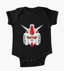 RX-78-2 Gundam Mobile Suit Short Sleeve Baby One-Piece