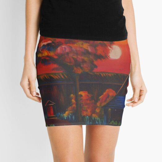 Afternoon Theater Mini Skirt