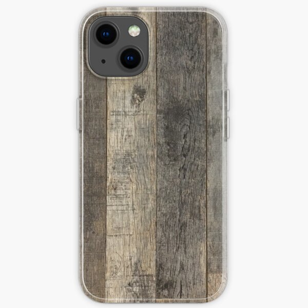 western country distressed old barn farmhouse wood  iPhone Soft Case