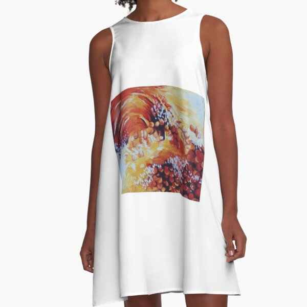 Sun bubbles A-Line Dress