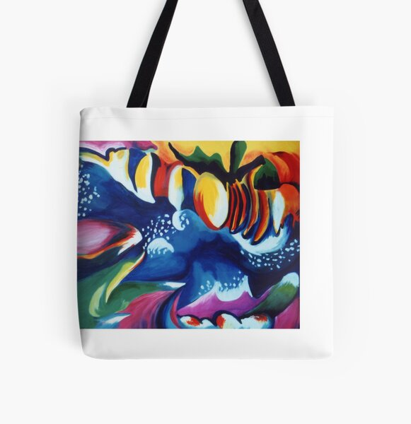 Energy Delight All Over Print Tote Bag