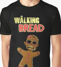 The walking bread! Graphic T-Shirt