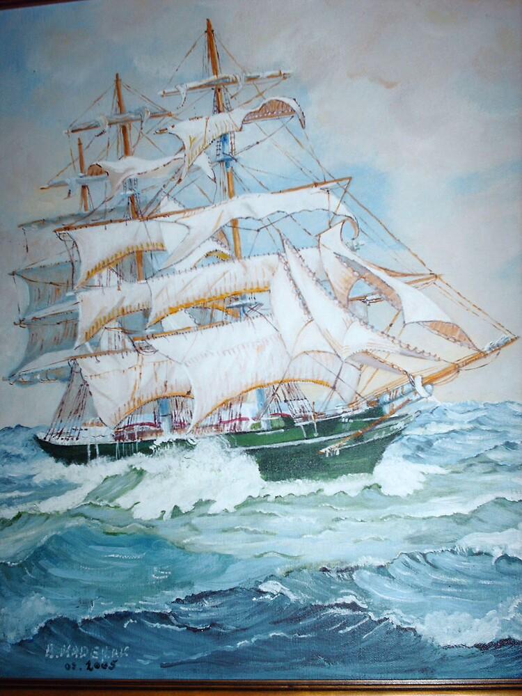 Sailing by Barbara Maderak