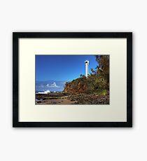 Point Cartwright Lighthouse.-6003-HDR Framed Print