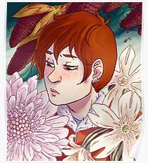 Rynne + Flowers Poster