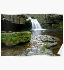 West Burton Waterfall Poster