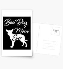 Best Dog Mom Ever Postkarten