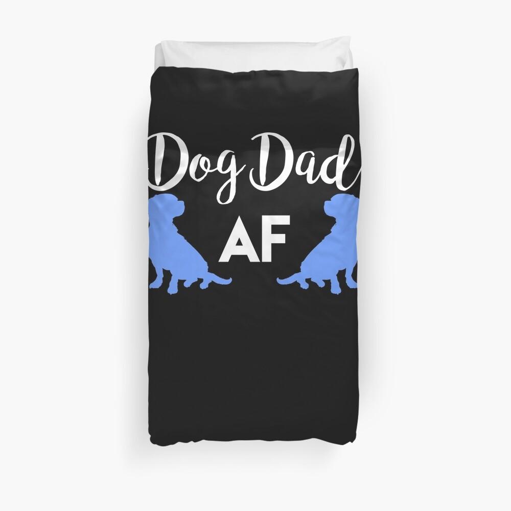 Dog Dad AF Dog Lover Funda nórdica