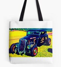 Custom Vintage Hot Rod Tote Bag