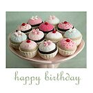 birthday cupcakes by bunnyknitter