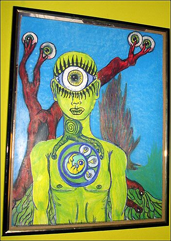 Cyclops by cardiocentric