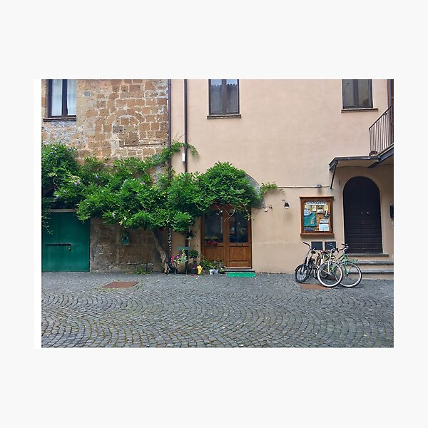 Peace in Orvieto, Italy. Photographic Print