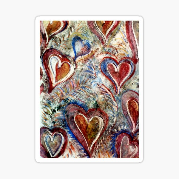 My Heart is yours valentine Sticker